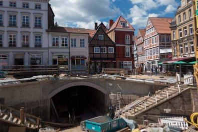 Sanierung der Hudebrücke in Stade 2013 - 2014_45