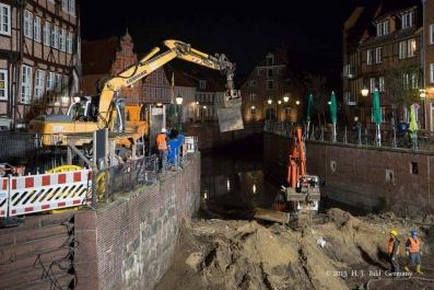 Sanierung der Hudebrücke in Stade 2013 - 2014_61